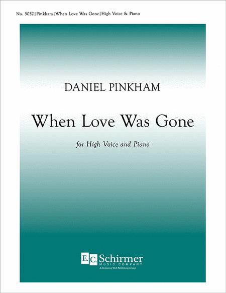When Love Was Gone