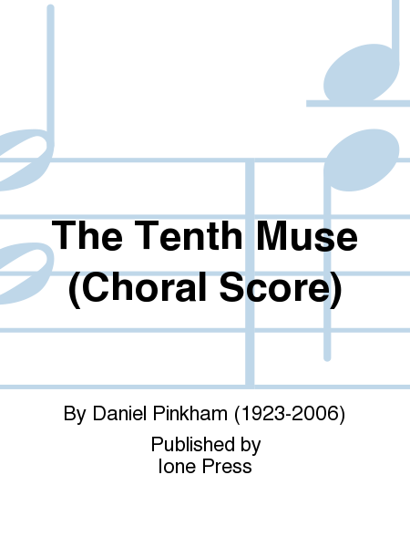 The Tenth Muse (Choral score)