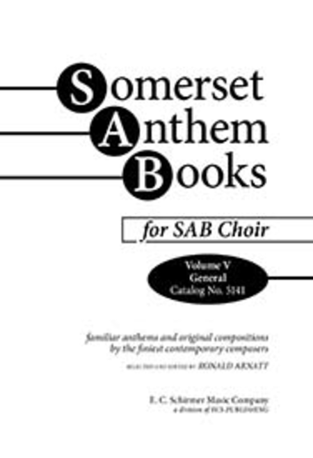 Somerset Anthem Books, Volume V