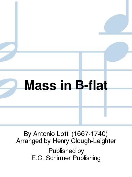 Mass in B-flat