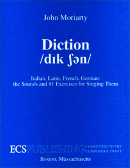 Diction (Third Edition)