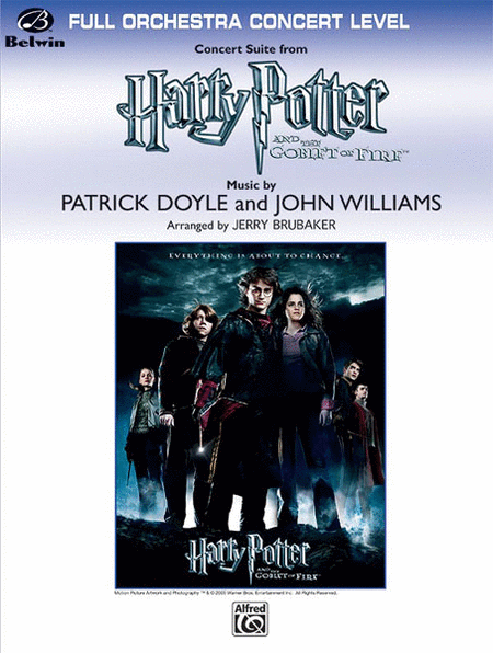 Harry Potter and the Goblet of Fire, Concert Suite from