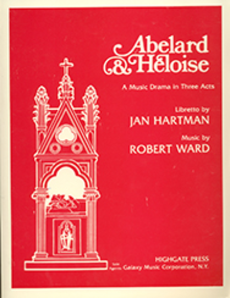 Abelard and Heloise (Vocal Score)