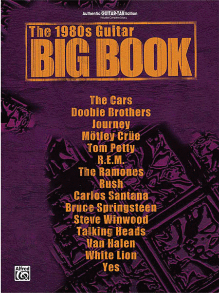 The 1980s Guitar Big Book