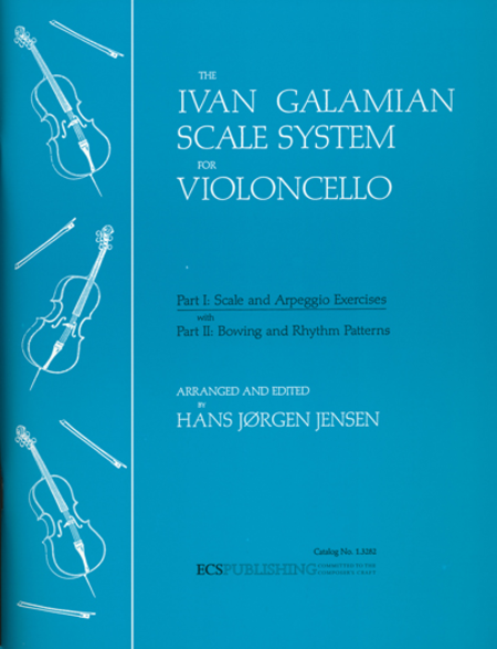 The Galamian Scale System For Violoncello (Volume 1)