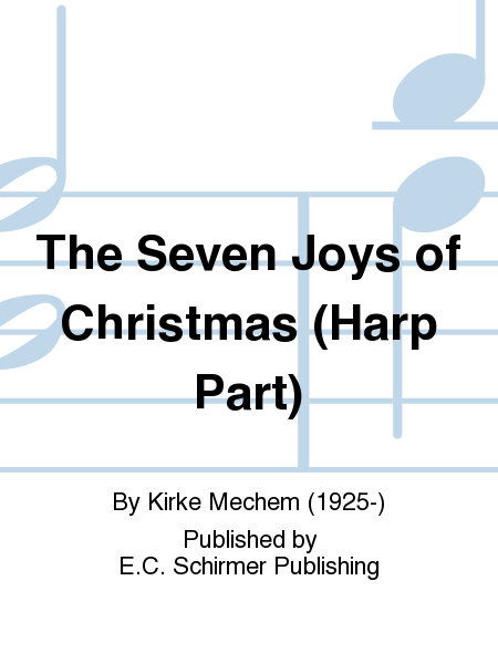 The Seven Joys of Christmas (Harp Part)