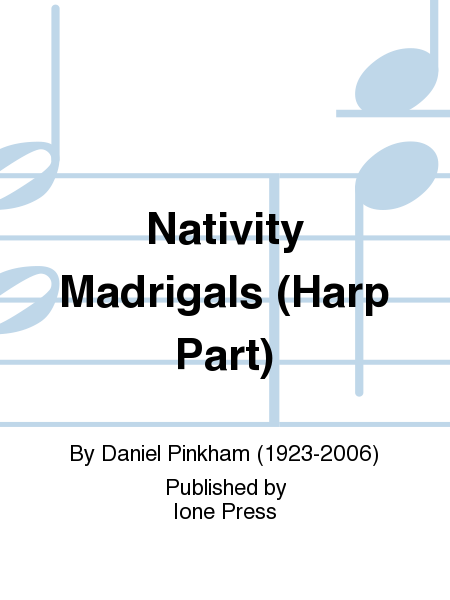 Nativity Madrigals (Harp Part)