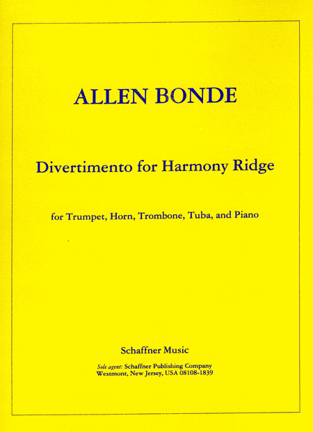 Divertimento For Harmony Ridge