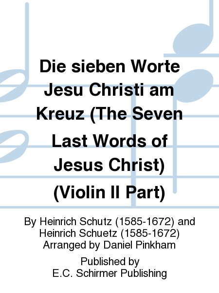 Die sieben Worte Jesu Christi am Kreuz (The Seven Last Words of Jesus Christ) (Violin II Part)
