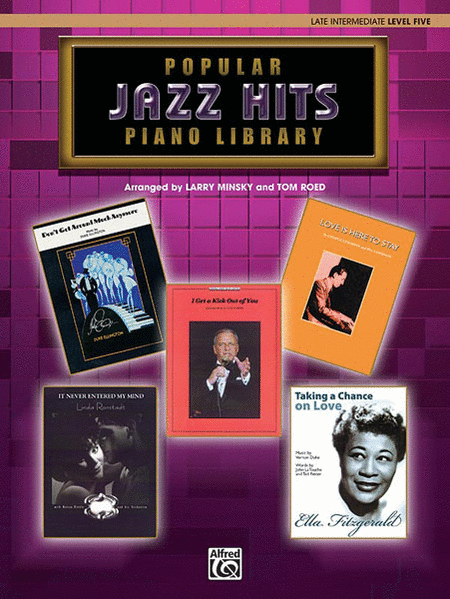 WB Popular Piano Library -- Jazz Hits