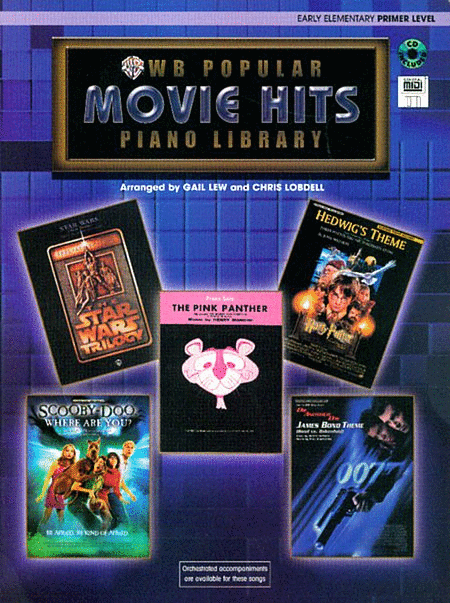 WB Popular Movie Hits, Primer Level (Book & CD)