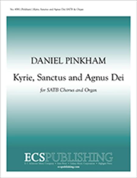 Kyrie, Sanctus and Agnus Dei
