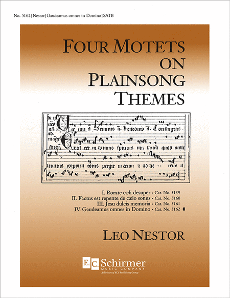 Four Motets on Plainsong Themes: No. 4. Gaudeamus omnes in Domino