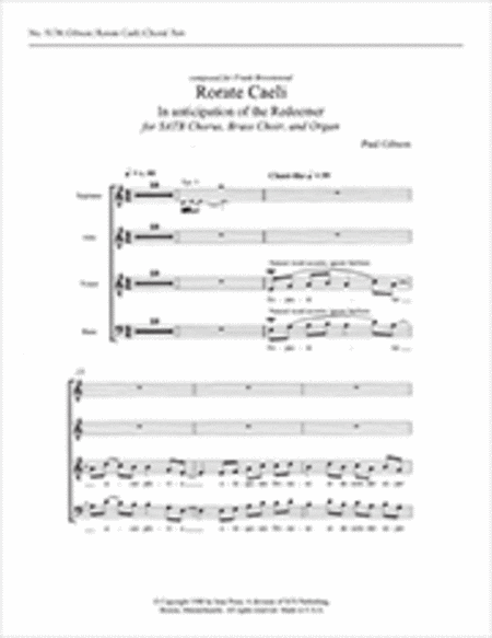 Rorate caeli (In Anticipation of the Redeemer)