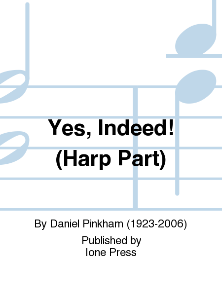 Yes, Indeed! (Harp Part)