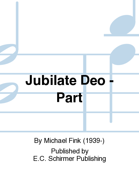 Jubilate Deo - Part
