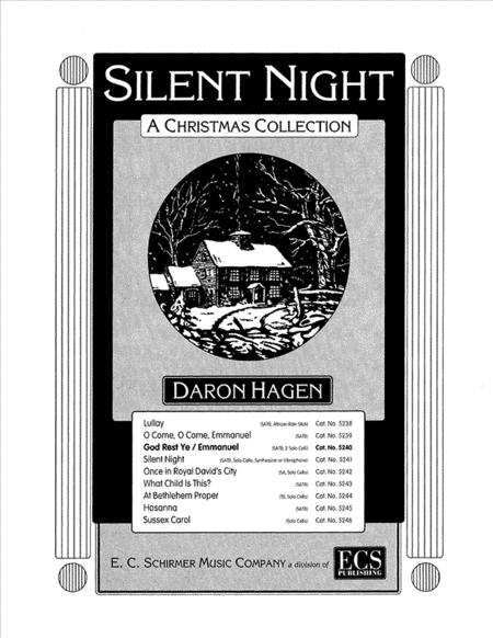 Silent Night-A Christmas Collection: God Rest Ye / Emmanuel