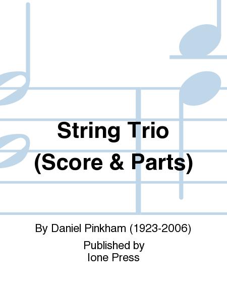 String Trio (Score & Parts)