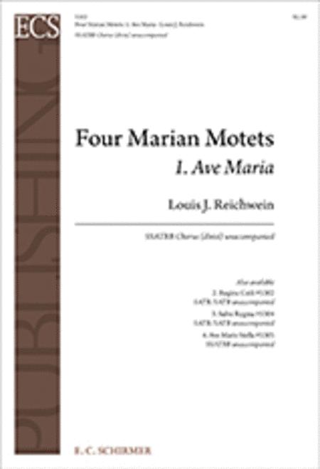 Four Marian Motets: No. 1. Ave Maria
