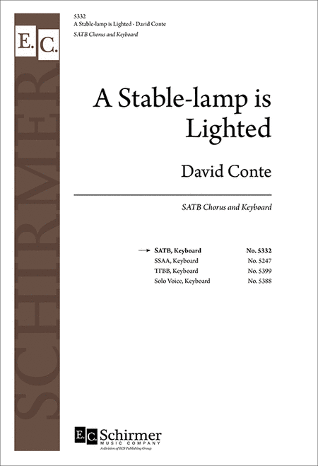 A Stable-lamp Is Lighted