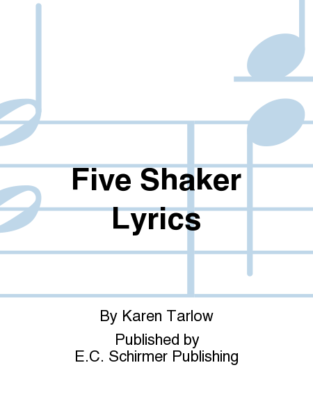 Five Shaker Lyrics