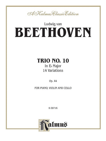 Piano Trio No. 10, Opus 44