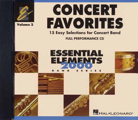 Concert Favorites Vol. 2 - Full Performance CD