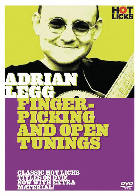 Adrian Legg - Fingerpicking & Open Tuning