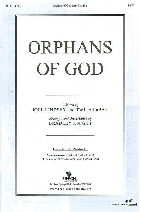 Orphans Of God Anthems
