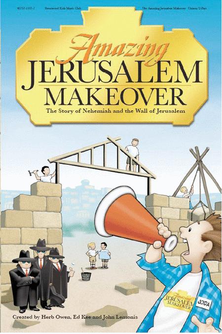 The Amazing Jerusalem Makeover Bulletins (100 Pack)