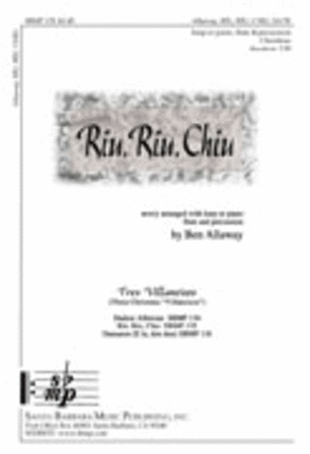 Riu, Riu, Chiu - Harp part