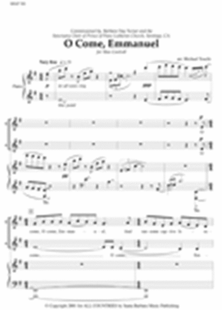 O Come Emmanuel Sheet Music By Michael Touchi - Sheet ...