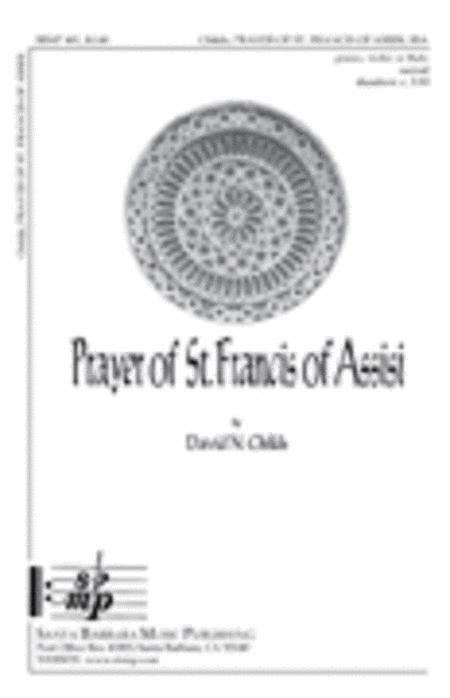 prayer of st francis music pdf