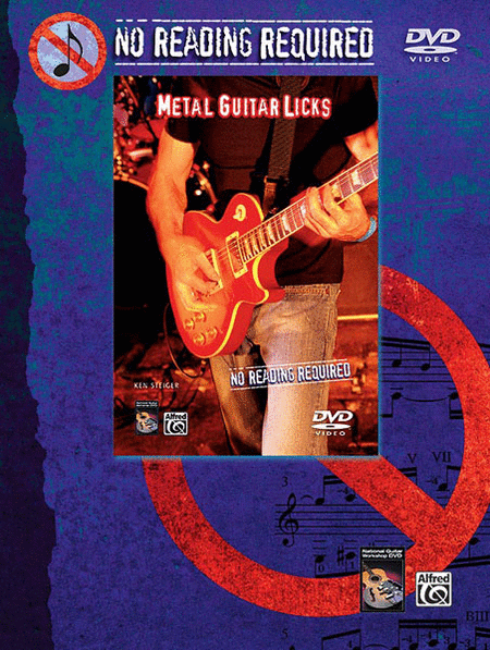 No Reading Required - Metal Guitar Licks (DVD)