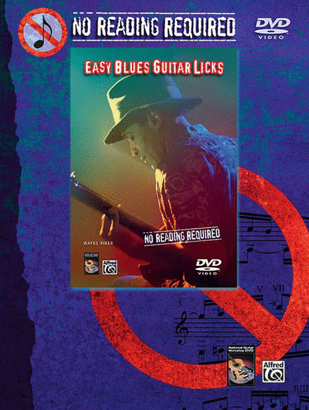 No Reading Required - Easy Blues Guitar Licks (DVD)