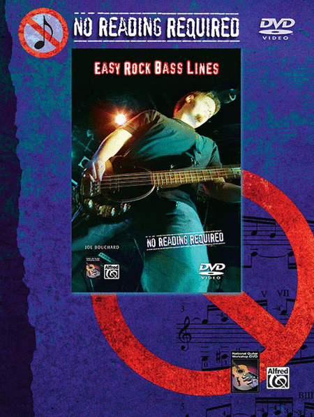 No Reading Required - Easy Rock Bass Lines (DVD)