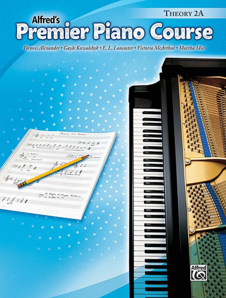Alfred's Premier Piano Course - Theory 2A
