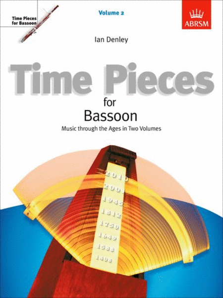 Time Pieces for Bassoon Volume 2 (Music through the Ages in 2 Volumes)