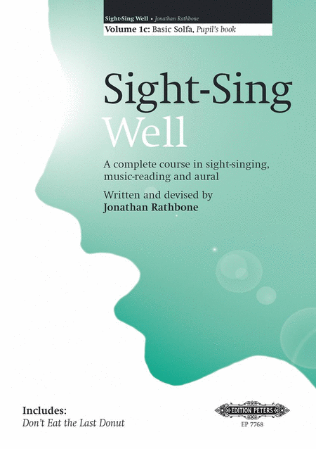 Sight-Sing Well: Pupil's Book
