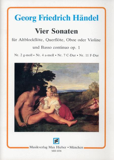 I Am a Soloist - Handel: Sonatas for Recorder