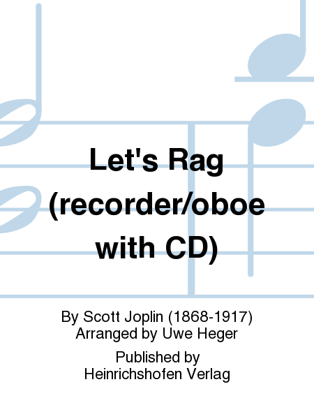 Let's Rag (recorder/oboe with CD)