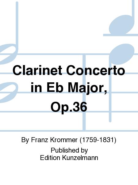 Clarinet Concerto in Eb Major, Op. 36