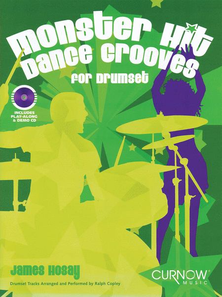 Monster Hit Dance Grooves Drums Book/CD Intmed