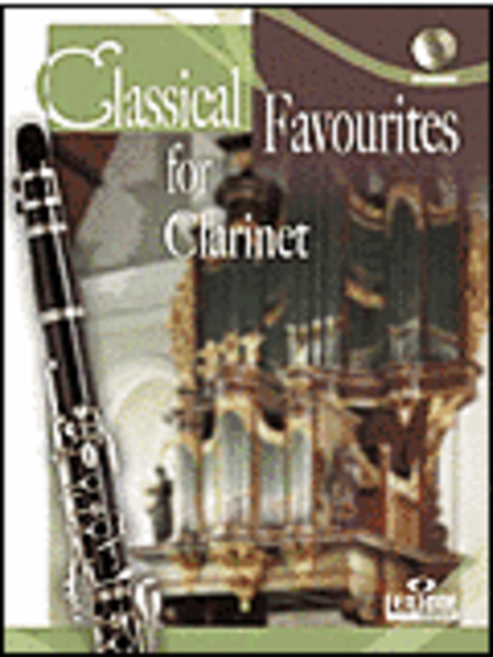 Classical Favourites For Clarinet Easy-intrmed Book/CD