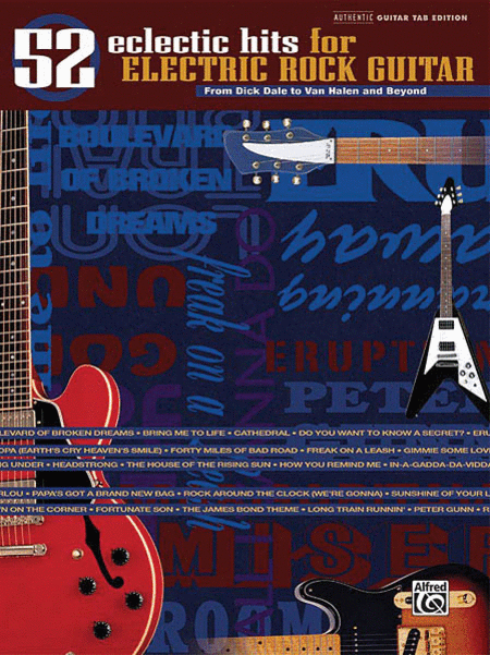 52 Eclectic Hits for Rock Guitar