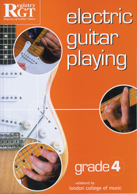 RGT - Electric Guitar Playing, Grade 4