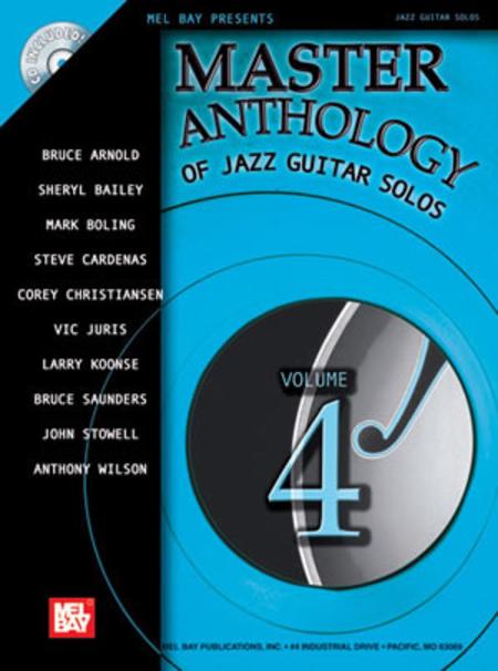 Master Anthology of Jazz Guitar Solos, Volume 4