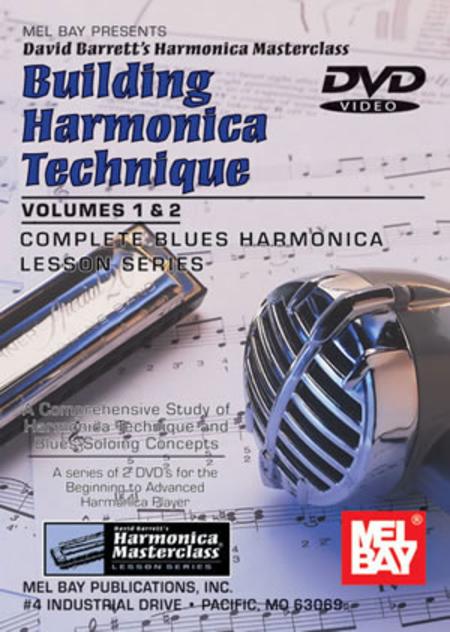 Building Harmonica Technique Volume 1 & 2