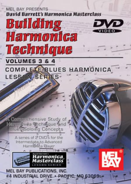 Building Harmonica Technique Volumes 3 & 4