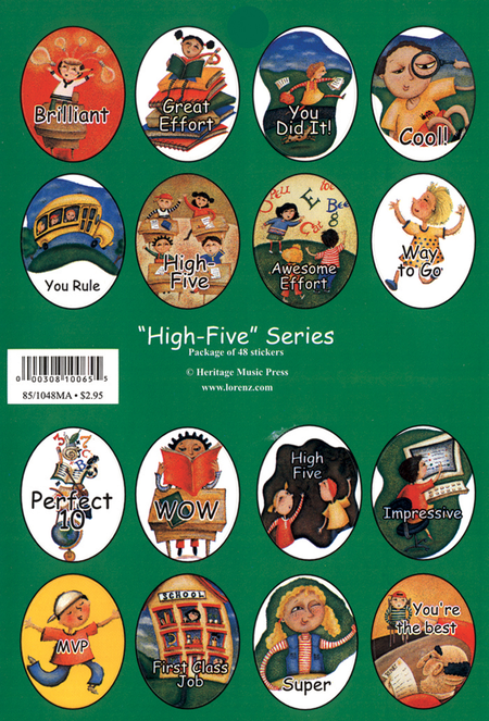 Stickers - High-Five Series